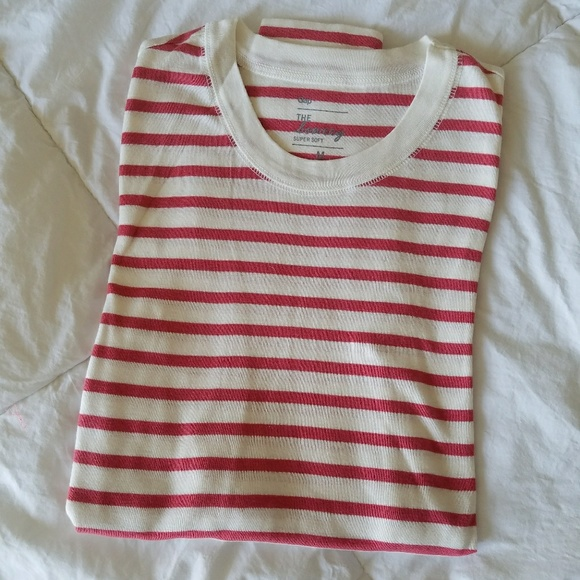 bb84c3cafcee39 GAP Tops | Nwot Striped Supersoft Long Sleeve Tee | Poshmark